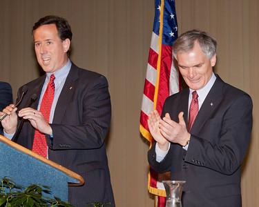 Senator Santorum and Congressman Bob Latta