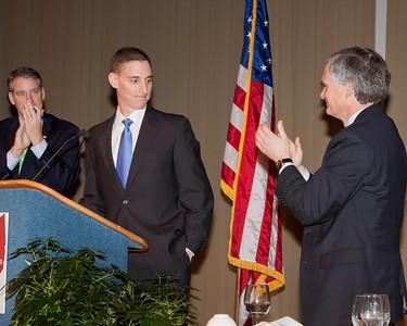 Chairman Kevin DeWine, Josh Mandel US Senate Candidate and Congressman Bob Latta