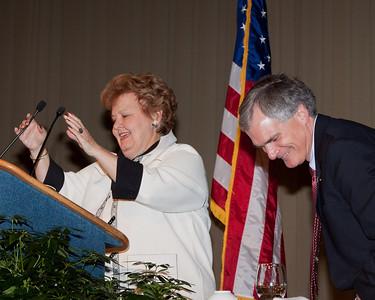 Betty Montgomery and Congressman Bob Latta