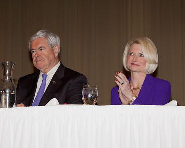 Speaker and Mrs. Gingrich.