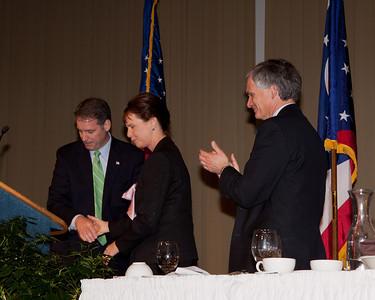 Chairman Kevin DeWine, Judge Sharon Kennedy Supreme Court Candidate and Congressman Bob Latta
