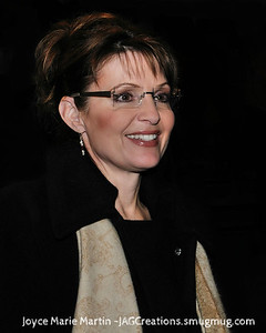 Sara Palin Larger Edited version. All images copyrighted to Joyce Martin and cannot be used without license. JMMed2530A