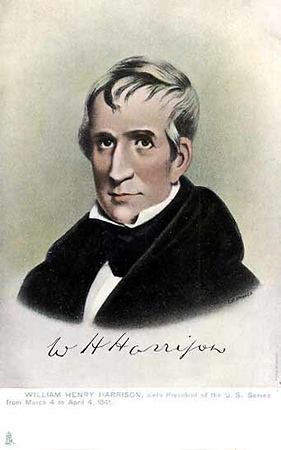 William Harrison 1773-1841 President for one month in 1841. He died in office.