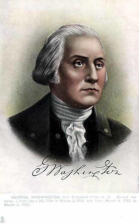 George Washington (1732-1799) President 1789-1797