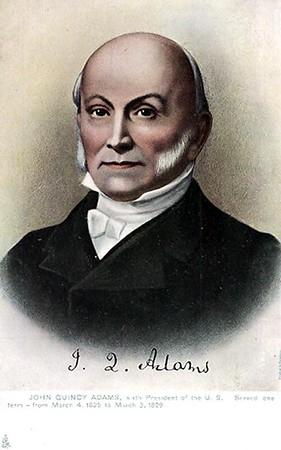 John Quincy Adams 1767-1848 President 1825-1829