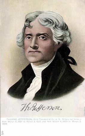 Thomas Jefferson 1743-1826 President 1801-1809