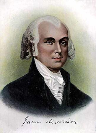 James Madison 1751-1836 President 1809-1817