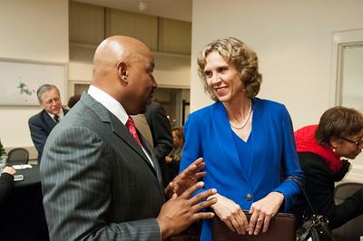 2015 Charlotte Swearing In New Mayor Jennifer Roberts & City Council Members 12-7-15