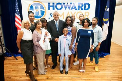David L Howard 'Howard For Mayor' Campaign Announcement 6-4-15