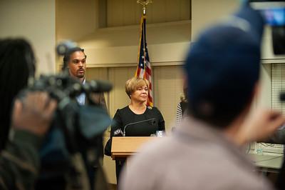 Oath of Office Swearing-In Ceremony - Introducing Mayor Viola Alexander Lyles 12-4-17 by Jon Strayhorn