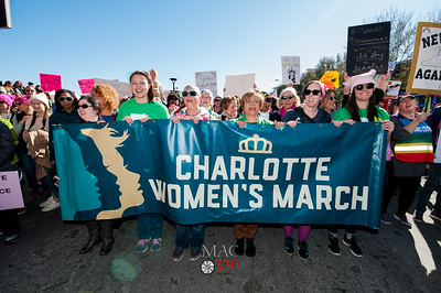 Womens March Charlotte 2018 with Mayor Vi Lyles 1-20-18 by Jon Strayhorn