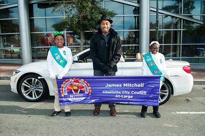 Charlotte's Mayor Elect Vi Lyes @ Novant Thanksgiving Day Parade 11-23-17 by Jon Strayhorn