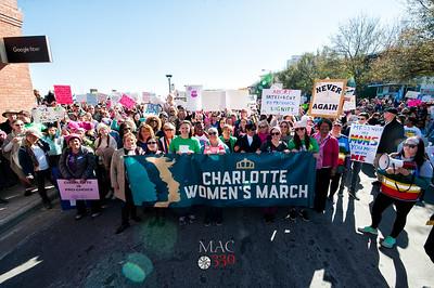 Womens March Charlotte 2018 with Mayor Vi Lyles 1-20-18 by Jon Strayhorn