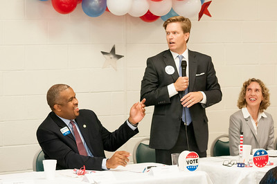 Pancakes & Politics Presented By The Charlotte Post @ Carole Hofefener Center 8-28-15