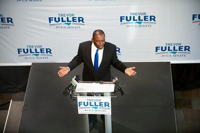 Trevor Fuller's Announce His Bid For US Senate @ Harvey B Gantt Center