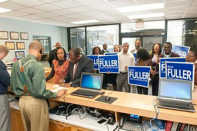 County Commissoner Trevor Fuller Filling Day 12-7-15
