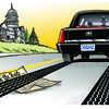 Cartoonist Gary Varvel: Obama runs over the Constitution