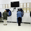 Don Knight | The Herald Bulletin<br /> The voting machines were full and there was a short line at the Central Services Building as election workers reported a steady stream of voters during the primary election on Tuesday.