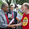 Rep. John Conyers with Jack
