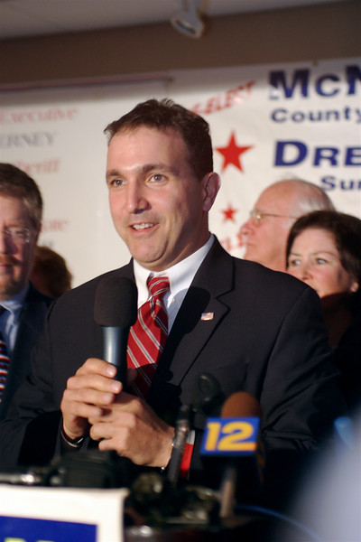 Post-election Democratic victory party<br /> Congressional candidate Paul Aronsohn
