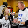 Don Knight | The Herald Bulletin<br /> Democrats gather at their headquarters to hear the election results on Tuesday.
