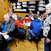 Don Knight | The Herald Bulletin<br /> Results come into Democratic Headquarters on Tuesday November 8th.