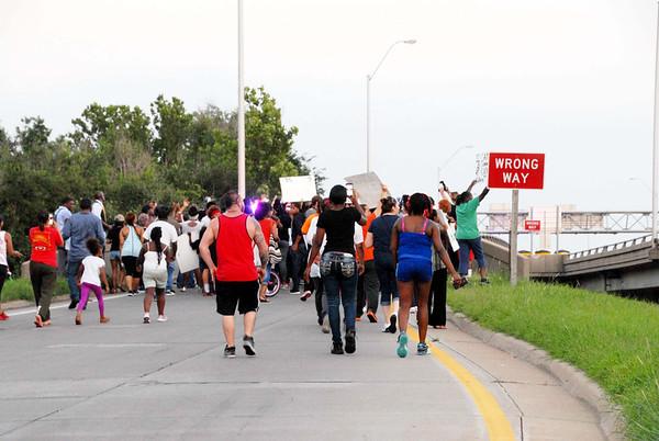 "13th Street ""Black Lives Matter"" Rally July, 12, 2016"
