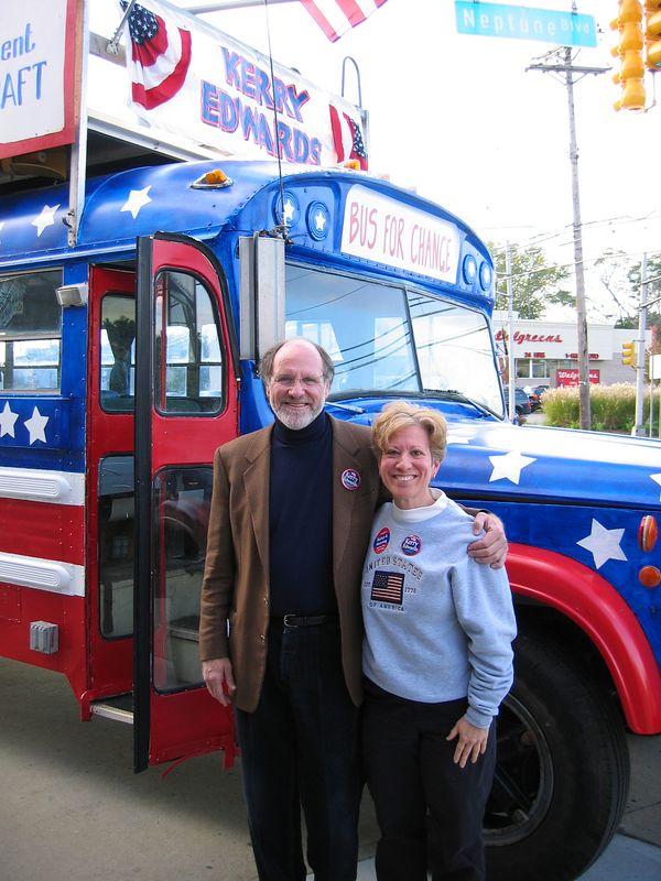 Senator Corzine and me!