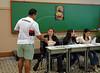 Brazilian citizens vote at a school, Rio de Janeiro, Brazil, October 3, 2010.  (Austral Foto/Renzo Gostoli)