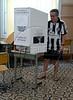 A brazilian citizen votes at a school, Rio de Janeiro, Brazil, October 31, 2010.  (Austral Foto/Renzo Gostoli)