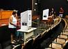 Brazilian citizens vote at a auditorium, Rio de Janeiro, Brazil, October 31, 2010.  (Austral Foto/Renzo Gostoli)