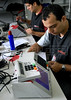 Technics prepare a electronic ballot box for presidential elections, Rio de Janeiro, Brazil, october 27, 2010. Brazil will hold presidential elections on October 31. (Austral Foto/Renzo Gostoli)