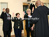 Circuit Court Judge Earnest Brown swears in (L-R) Vanette Johnson, Mandy Alford, Sissy Granderson and (hidden) H.O. Gray at the Jefferson County Courthouse Saturday morning. /Mike Adam