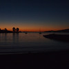 English Bay sunset.