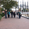 Walk along False Creek seawall beside Yaletown with Jordan, Evelyn, Stina, Laura Leah, Vanessa, Regan, Jacquie.