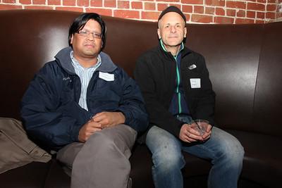 Left to right, Benjamin Gonzales, Philip Arbeit.