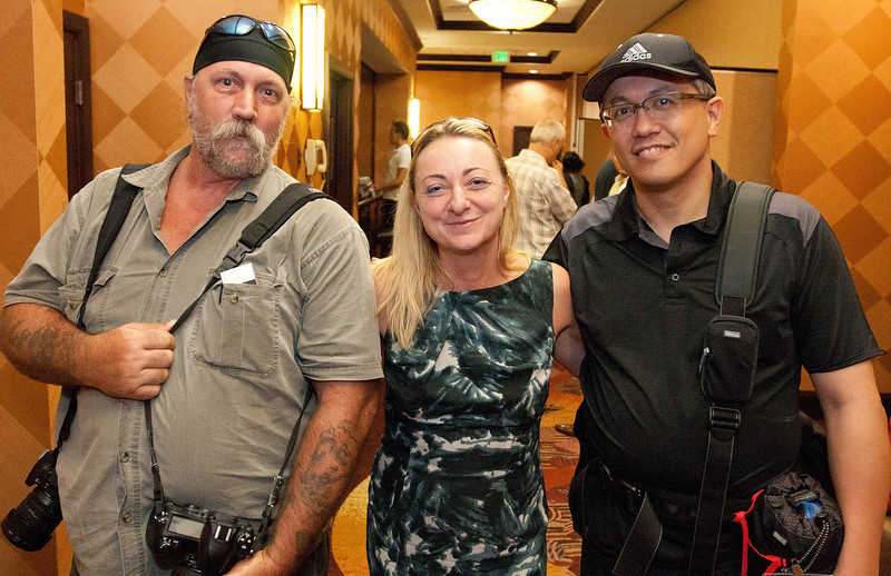 L to R:  Myself, Dr. Barbara Kolm, President of the Austrian Economic center in Vienna, Austria and Pierre, Freedomworks photographer.
