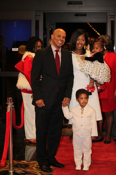 2012 Red and White Ball hosted by Pastor Rowena Joyce Scott, Ward 8 President