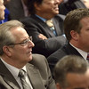 Mike McMahon - The Record,  Troy Mayor Lou Rosamilia and Albany Co. Exec Dan McCoy at Gov. Coumo's 2014 State of the State Address at the Empire State Plaza ConventionCenter, Albany, NY, Wednesday January 8, 201