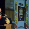 Mike McMahon - The Record,  Gov. Coumo talks about the two legislators who didn't show up for his Adirondack challenge at the  2014 State of the State Address at the Empire State Plaza ConventionCenter, Albany, NY, Wednesday January 8, 201