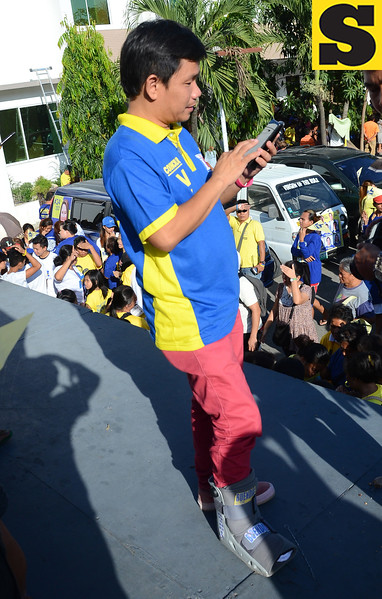 BOPK south district candidate for councilor Victor Buendia