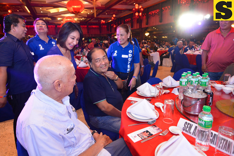 Lito Osmeña with Winston and Gwen Garcia
