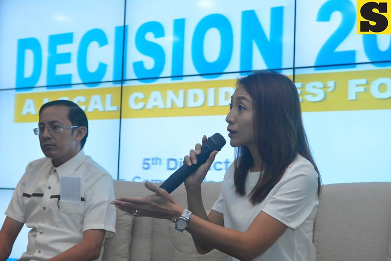 Election forum with Christina Garcia Frasco and Michael Enriquez