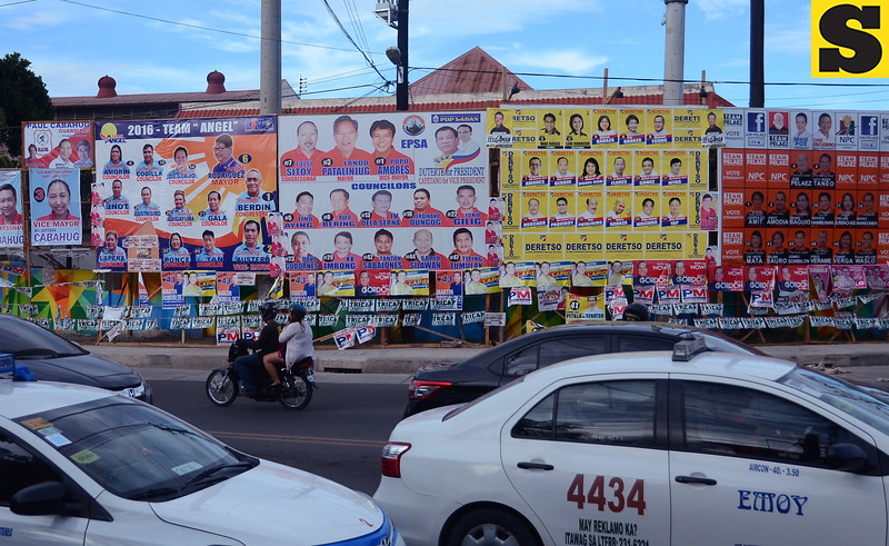 Election common poster area in Lapu-Lapu City