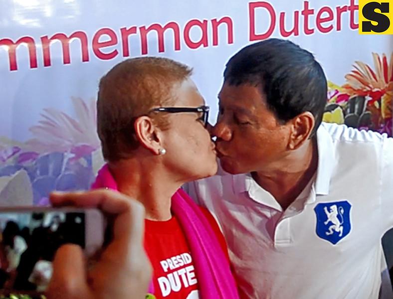 Rodrigo Duterte and Elizabeth Zimmerman