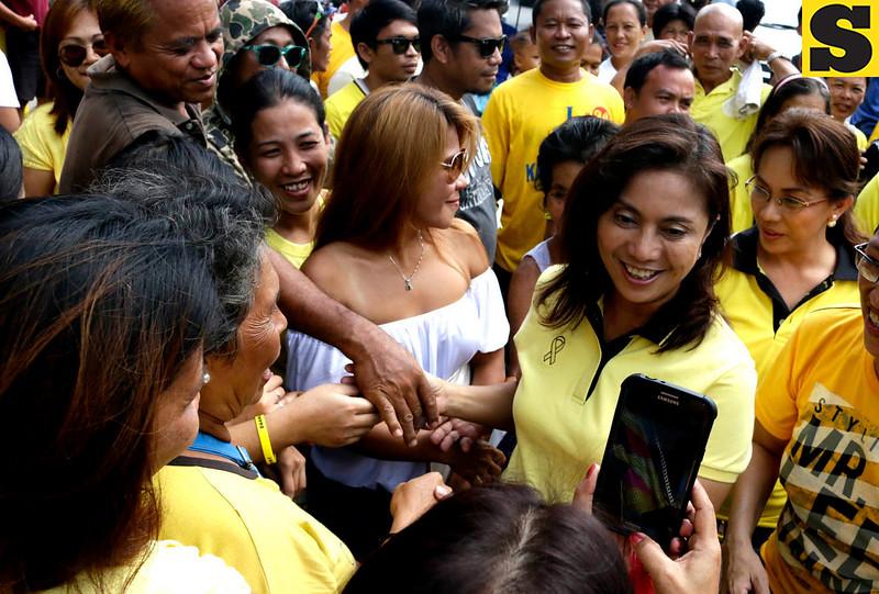 Leni Robredo in Toledo, Cebu