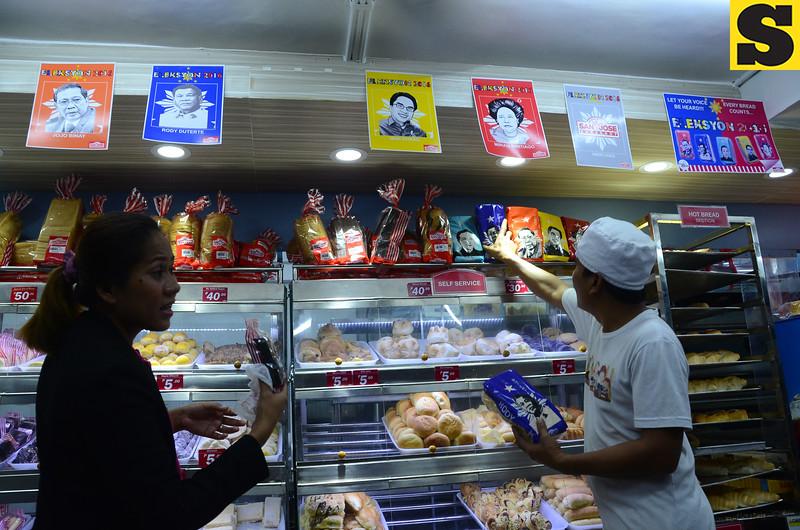 Sliced bread with Rodrigo Duterte face