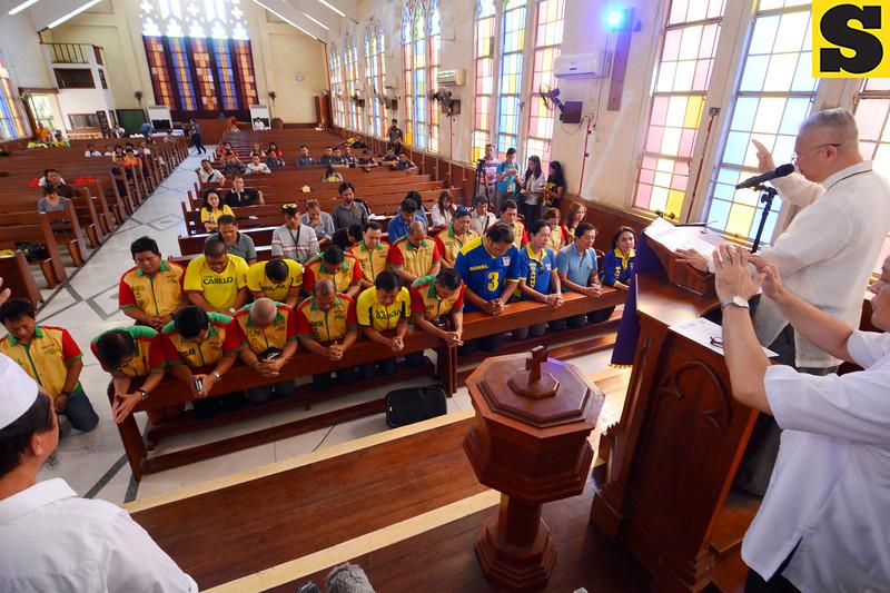 Jose Palma blesses Cebu City candidates
