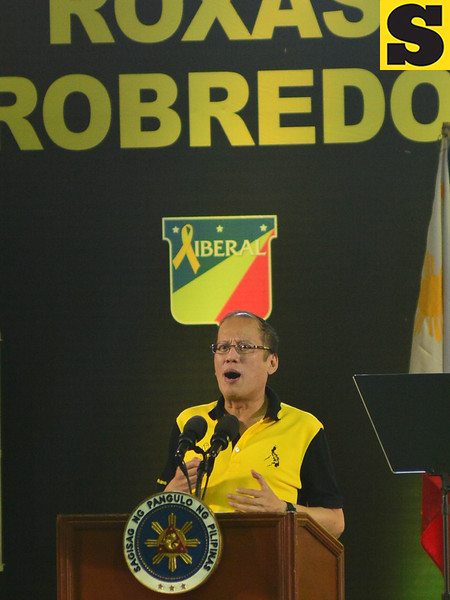 Liberal Party political rally in Cebu