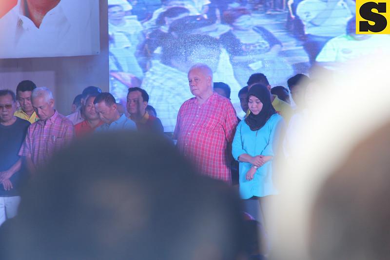 """Toledo City, Cebu Mayor John Henry """"Sonny"""" Osmena attends the UNA Visayas-wide campaing launch"""